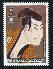 Otani Oniji by Sharaku