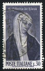 Saint Catherine of Siena by Andrea Vanni