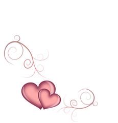 Ornament mit Herz
