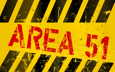 "warning sign "" area 51 """