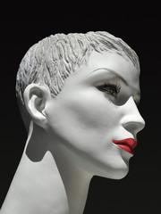 Schaufenster Puppe Kopf