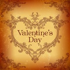 Retro Valentines Day