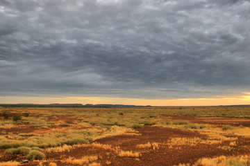 Lonely Outback Scenery in Western Australia