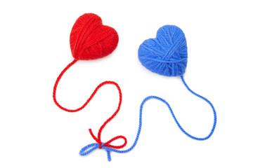 Wool hearts-26