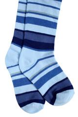 Child's striped tights