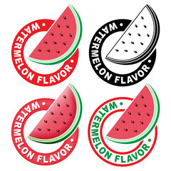 Watermelon Flavor Seal / Mark