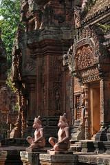 Lumières sur le Banteay Srei