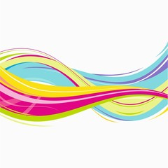 Abstract vector decoration