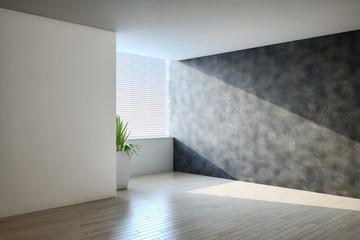 Empty living room