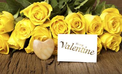 "Rosengrüße ""Be my Valentine"""
