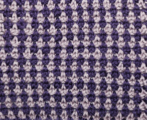 Knitted Double-Colored Pattern