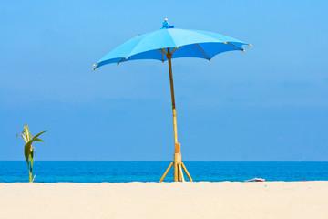 Tropical beach on Koh Phangan, Thailand.