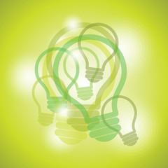 creative idea bulb