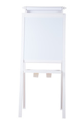 easel isolated with white background