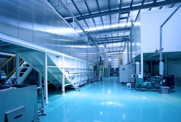 Factory floor scene