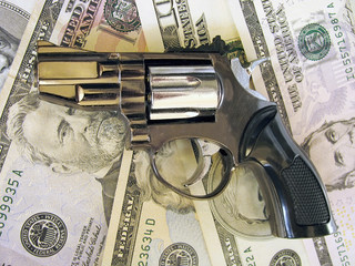 gun on cash