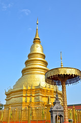 Wat Phra That Hariphunchai lamphun province,THAILAND