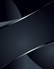 Background or banner with pattern