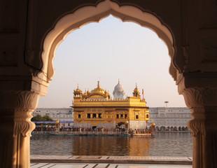 Keuken foto achterwand India Amritsar Golden Temple - India.