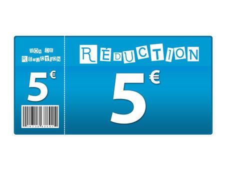 bon de réduction 5 euros