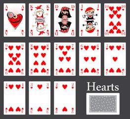 hearts cards casino