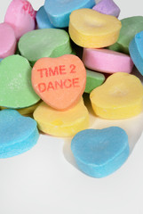 """Valentine Candy Hearts """"Time 2 Dance"""""""