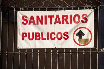 Sanitarios Publicos: Public Restrooms