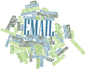 Word cloud for Email
