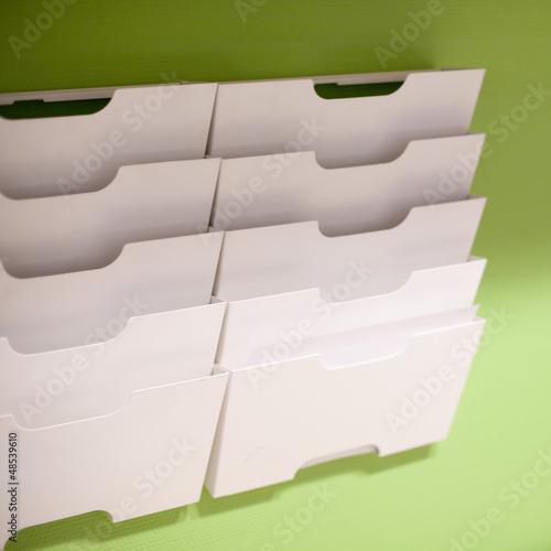 Casier Rangement Papier Photo Libre De Droits Sur La Banque D