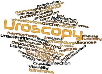 Word cloud for Uroscopy
