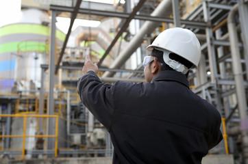 engineer oil gas refinery