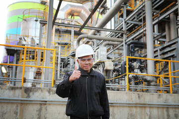 engineer oil gas refinery