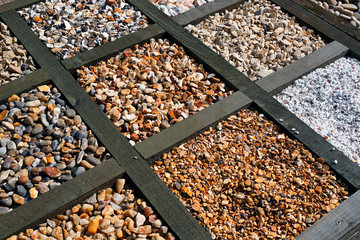 Different types of gravel