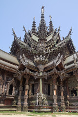 Pattaya. The Wood Sanctuary of Truth