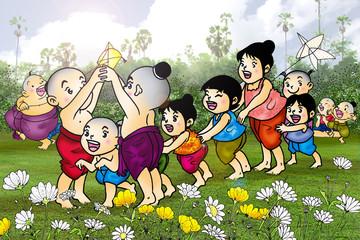 Kids play Thailand 1