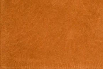 Wall Mural - Orange leather texture