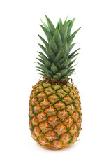 Isolated ananas