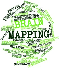 Word cloud for Brain mapping