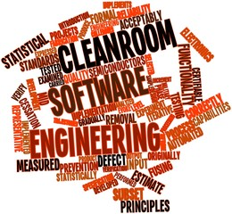 Word cloud for Cleanroom software engineering