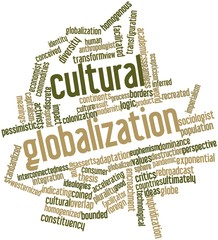 Word cloud for Cultural globalization