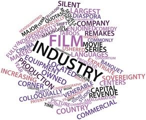 Word cloud for Film industry