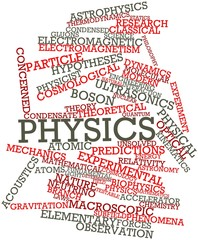Word cloud for Physics