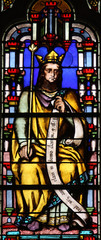 Stained glass, Saint Germain-l'Auxerrois church, Paris