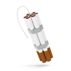 Cigarettes bomb