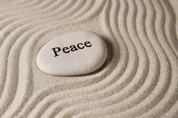 Recess Fitting Zen Peace stone