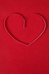 singe paper heart