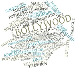 Word cloud for Bollywood
