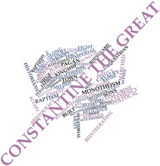 Word cloud for Constantine the Great