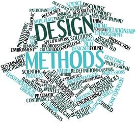 Word cloud for Design methods