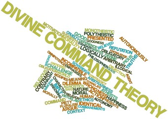 Word cloud for Divine command theory